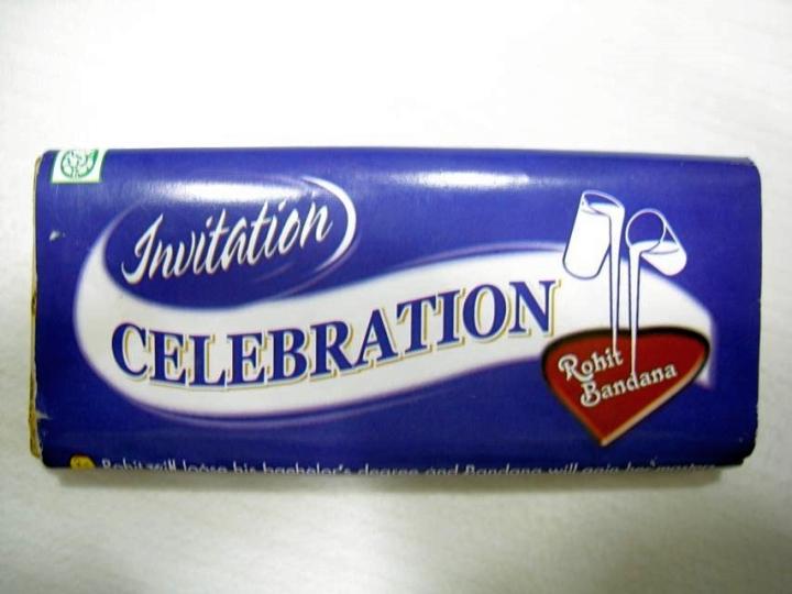 Invitation for a Celebration