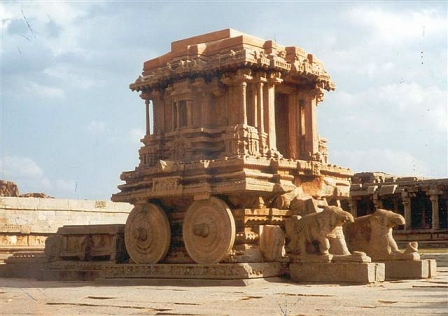 The Ratha, across from Vittala Temple, Hampi