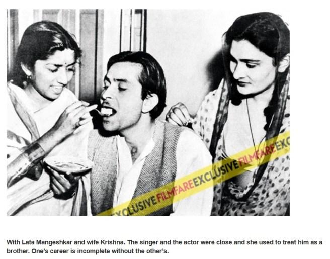 Lata Mangeshkar_Raj Kapoor_Krishna